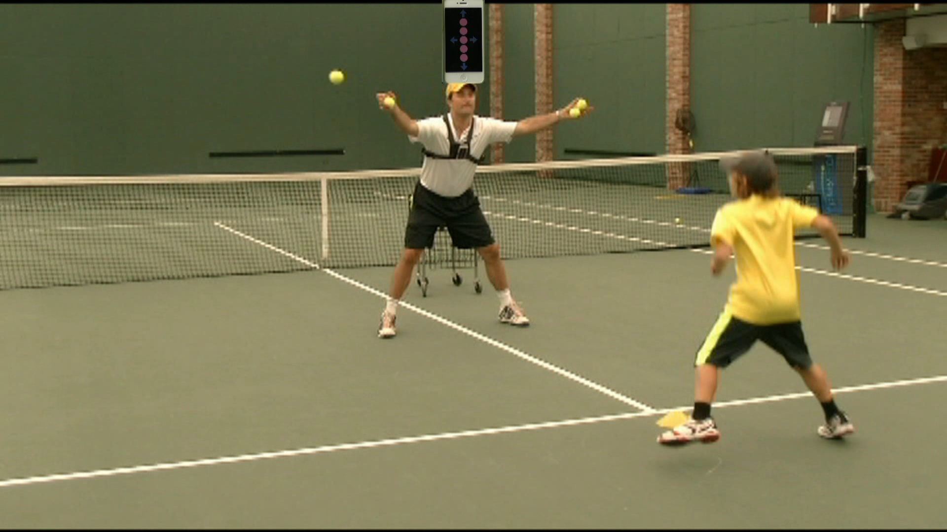 Tennis ball drills